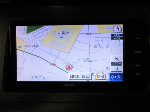 S 社外SDナビ ワンセグTV バックカメラ ETC インテリキー プッシュスタート HIDオートライト オートエアコン アイドリングストップ 純正15インチアルミ コーナーセンサー 電動格納ミラー(2枚目)