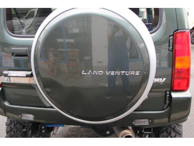 ランドベンチャー 3inリフトアップ/社外ショック/サス/レイズ16inアルミ/ジオランダーMT/F.R社外ラテラルロッド/F.R社外ショートバンパー/社外スキッドプレート/牽引フック/ターボタイマー/Bカメラ(31枚目)