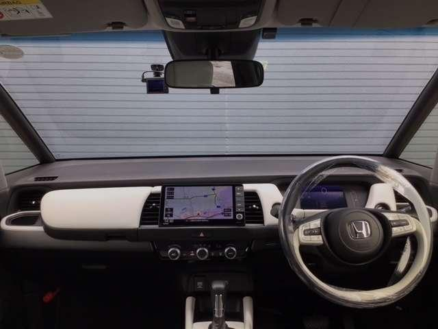 e:HEVホーム 新車保証付 純正9インチメモリナビ ETC バックカメラ ドライブレコーダー 禁煙車 元当社レンタカー(7枚目)