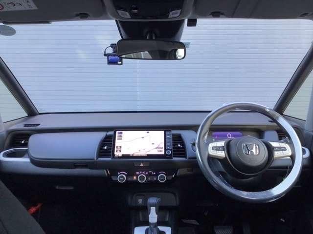 e:HEVベーシック 新車保証付 新車保証付 純正デカナビ 衝突軽減ブレーキ 障害物センサー 電動格納ミラー ドライブレコーダー LEDヘッドライト オートライト(7枚目)