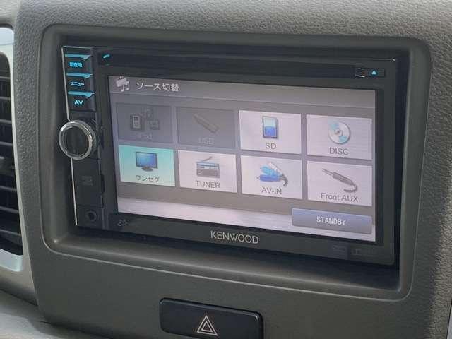 X メモリーナビ ワンセグTV ETC Bカメラ DVD再生可 片側パワースライドドア(13枚目)