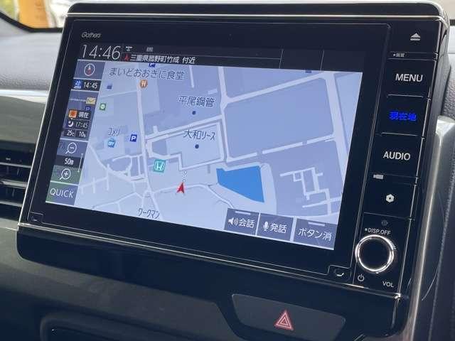 Lホンダセンシング 8インチインターナビ フルセグTV Bカメラ Bluetooth接続 DVD再生 ETC シートヒーター スマートキー LEDヘッドライト アルミホイール フォグライト 当社デモカー(7枚目)