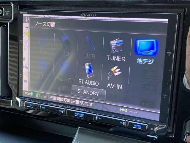 G 8インチメモリーナビ フルセグTV DVD再生 Bカメラ ETC スマートキー HIDヘッドライト アルミホイール(9枚目)