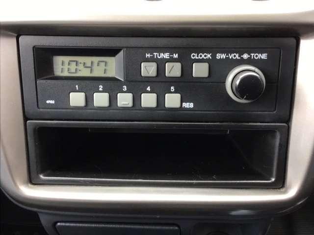 SDX AT車 禁煙車 ラジオ(6枚目)