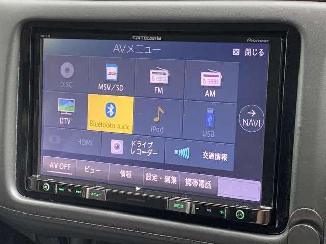 フルセグTV・DVD再生可・Bluetooth Audio・音楽録音可・・・運転中もお気に入りのソースでお楽しみ頂けます!!