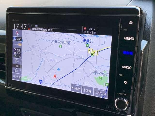G・Lターボホンダセンシング 8インチインターナビ フルセグTV Bカメラ ETC ドラレコ スマートキー シートヒーター 両側パワースライドドア LEDヘッドライト アルミホイール フォグライト レンタUP車(7枚目)