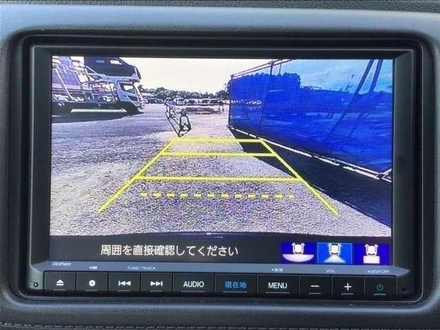 ハイブリッドZ・ホンダセンシング 8インチインターナビ フルセグTV DVD再生可 Bカメラ ドラレコ ETC スマートキー シートヒーター LEDヘッドライト アルミホイール レンタUP車(8枚目)