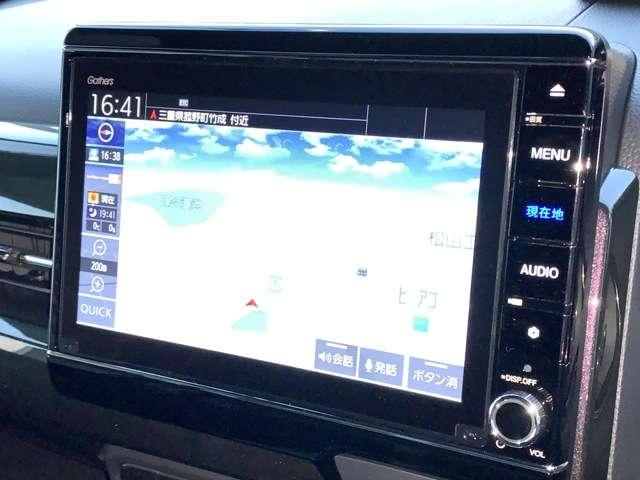 G・Lターボホンダセンシング 8インチインターナビ フルセグTV DVD再生可 BTA ドラレコ ETC スマートキー シートヒーター 両側パワースライドドア LEDヘッドライト アルミホイール 当社デモカー(7枚目)