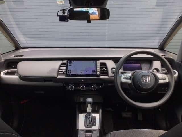 ホーム 当社管理のレンタカーを商品化 ホンダ純正9インチインターナビ 地図更新付き Bluetooth対応 ユピテルフロントドラレコ装着 ETC(7枚目)