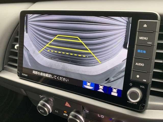 ホーム 9インチインターナビ フルセグTV DVD再生可 Bカメラ ドラレコ ETC スマートキー LEDヘッドライト クリアランスソナー レンタUP車(8枚目)
