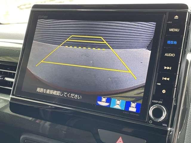 G・Lターボホンダセンシング 8インチインターナビ DVD再生可 フルセグTV Bカメラ ETC フリップダウンモニター スマートキー 両側パワースライドドア LEDヘッドライト フォグライト アルミホイール(8枚目)