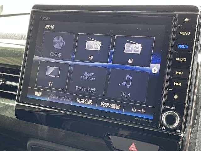 G・Lターボホンダセンシング 8インチインターナビ DVD再生可 フルセグTV Bカメラ ETC フリップダウンモニター スマートキー 両側パワースライドドア LEDヘッドライト フォグライト アルミホイール(9枚目)
