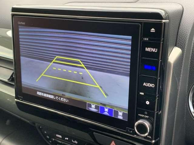 L・ターボホンダセンシング 8インチインターナビ フルセグTV DVD再生可 Bカメラ ドラレコ ETC スマートキー シートヒーター LEDヘッドライト クリアランスソナー アルミホイール レンタUP車(8枚目)