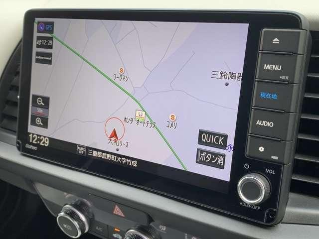 ホーム 8インチホンダコネクトナビ フルセグTV DVD再生 ドラレコ ETC スマートキー LEDヘッドライト クリアランスソナー レンタUP車(7枚目)