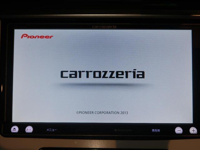 カロッツェリアSDナビ装着車両!CDやDVD、フルセグTVなど多彩な装備がございます!!