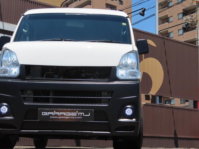 PAリミテッド 5速MT バブリーフルエアロ 車高調 ワーク15インチAW LEDヘッドライト LEDフォグ オーバーフェンダー キーレス バットフェイスボンネット 室内灯LED(3枚目)