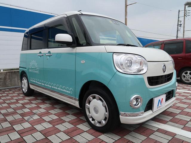 「ダイハツ」「ムーヴキャンバス」「コンパクトカー」「愛知県」の中古車24