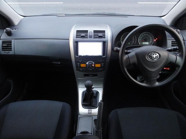 トヨタ カローラフィールダー 1.5X エアロツアラー SDナビTV 5MT