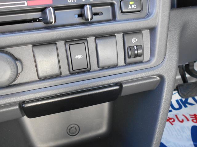 スズキ キャリイトラック KCスペシャル 3型 4WD AT キーレス PW