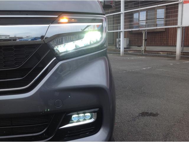 G・Lターボホンダセンシング ナビフルセグTV バックカメラ 両側パワースライドドア 衝突軽減ブレーキ ビルトインETC オートライト オートハイビーム LEDヘッドライト アイドリングストップ エアロ(14枚目)