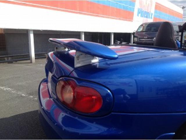 マツダスピードロードスター フルエアロ SSR15インチアルミ スポーツサウンドマフラー 車高調(35枚目)