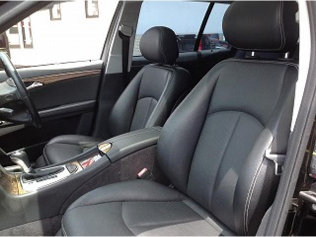 E280ステーションワゴン AVGスポーツエディション 黒革シート サンルーフ メーカナビ パワーシート シートヒーター コーナーセンサー クルーズコントロール HIDオートライト パワーゲート バックフォグ ETC(17枚目)