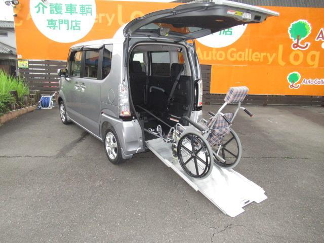 福祉車両 G スロープ 電動ウィンチ 純正CDオーディオ(3枚目)