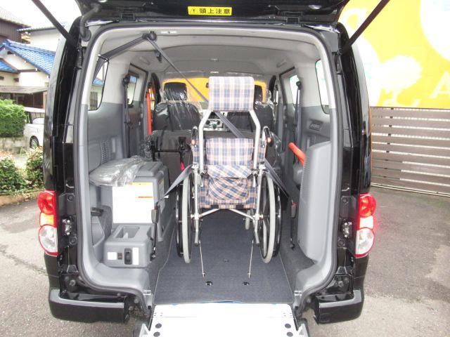 福祉車両 タクシー ユニバーサルデザイン スロープ(8枚目)