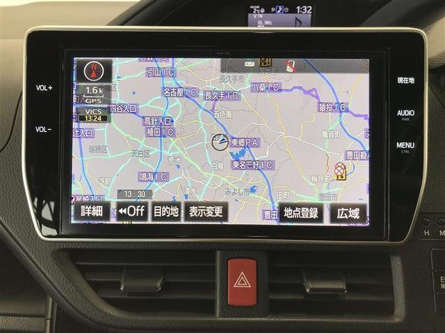 Si ダブルバイビー フルセグ メモリーナビ DVD再生 ミュージックプレイヤー接続可 後席モニター バックカメラ 衝突被害軽減システム ETC 両側電動スライド LEDヘッドランプ 乗車定員8人 3列シート ワンオーナー(7枚目)