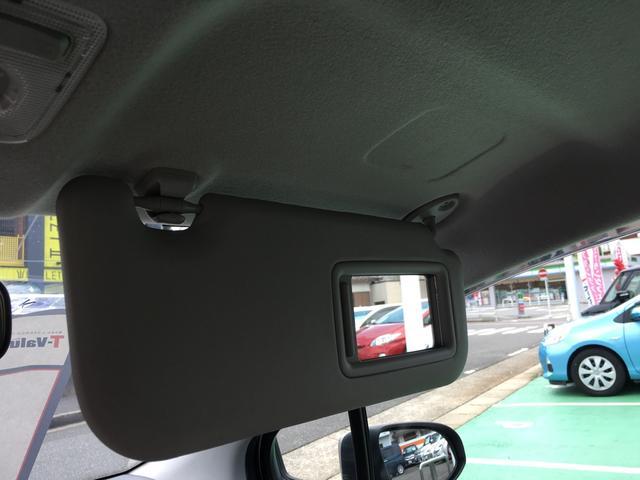 運転席のバイザーです。鏡もありますので便利ですよ!!