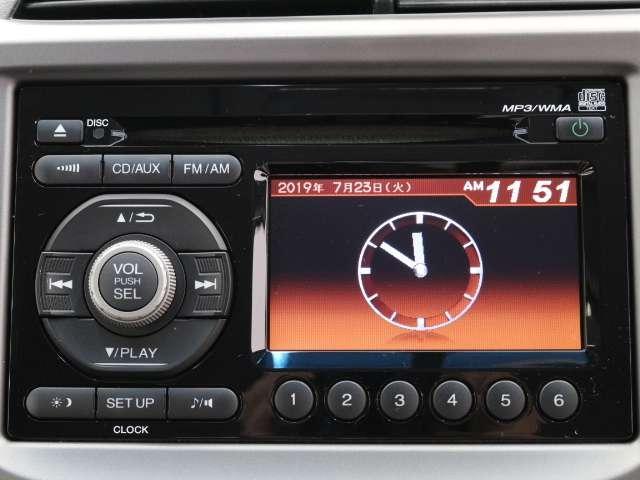 CDチューナーを装備しております!運転をしながらお好きな音楽を聴くことができます!