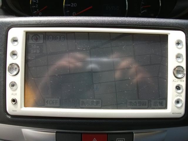 ダイハツ ムーヴ カスタム X 純正ナビ ベンチシート CD ETC