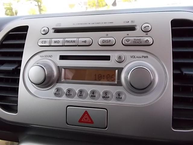純正CD/FM・AMラジオ・デジタル時計・CD再生・チューナー作動チェック済みです。