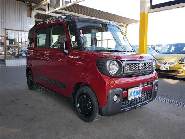 「スズキ」「スペーシアギア」「コンパクトカー」「愛知県」の中古車4