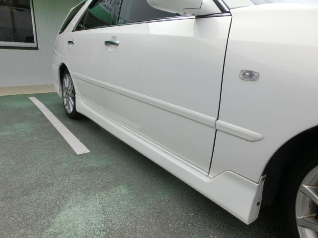 トヨタ マークIIブリット 2.0iR リミテッド 純正エアロ 新品タイヤ Tベル済