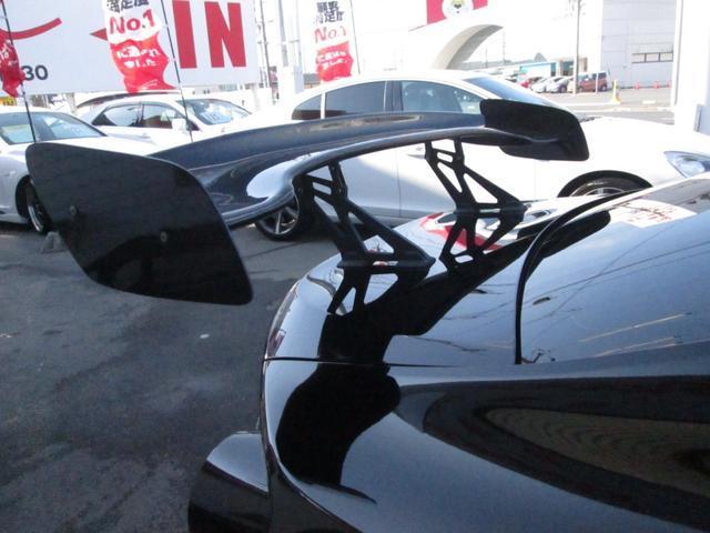 GT 車高調ブリッツHKSマフラー2本出しGTウィング(12枚目)