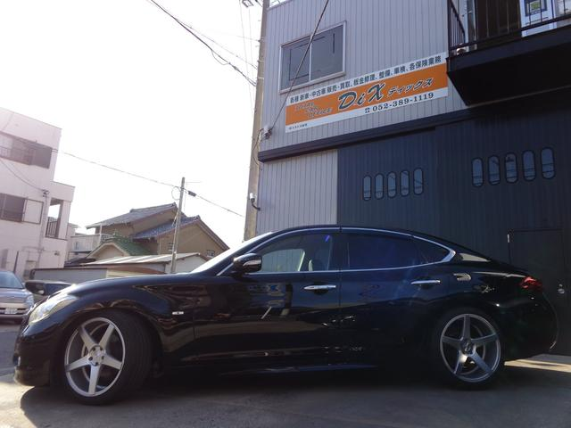 370GT HDDナビTV本革シート20アルミ車高調半年保障(5枚目)