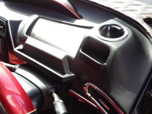 S ガラスコーティング施工済モデリスタエアロSSR18AWトランクルーフスポグリルカバーメッキモール純正LEDヘッドライトフォグ内装黒 赤インテリアナビTVDVDCDBluetoothBカメラETC(59枚目)