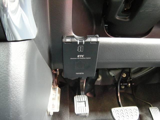 純正オプションETC車載器(音声タイプ)高速走行もラクラク便利です。社外盗難防止セキュリティシステム搭載で、安心です!