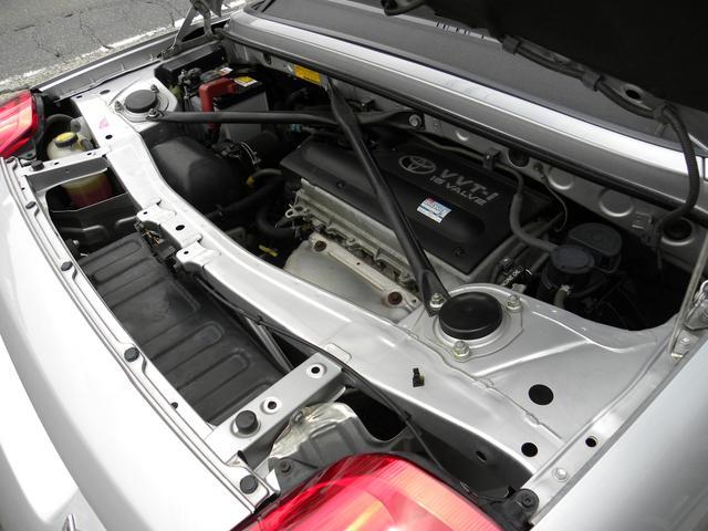 トヨタ MR-S Sエディション 純正エアロ 社外ナビ フルセグ ETC