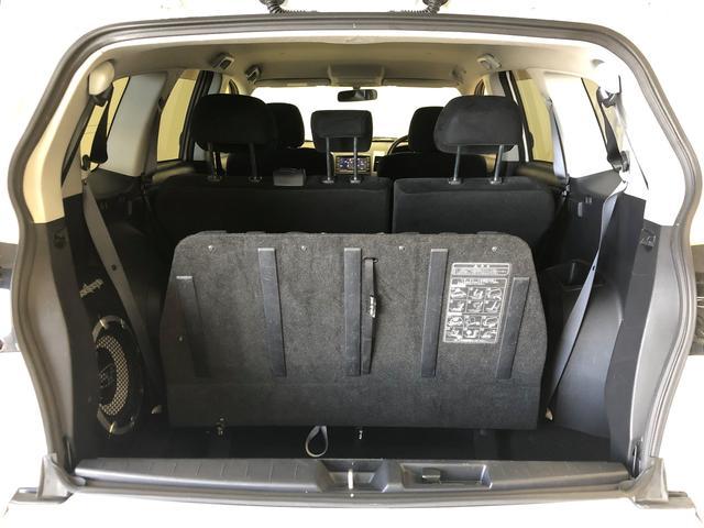 24G 4WD HDDナビ DVD再生 バックカメラ ETC HIDヘッドライト 乗車定員7人 3列シート ワンオーナー 記録簿(29枚目)