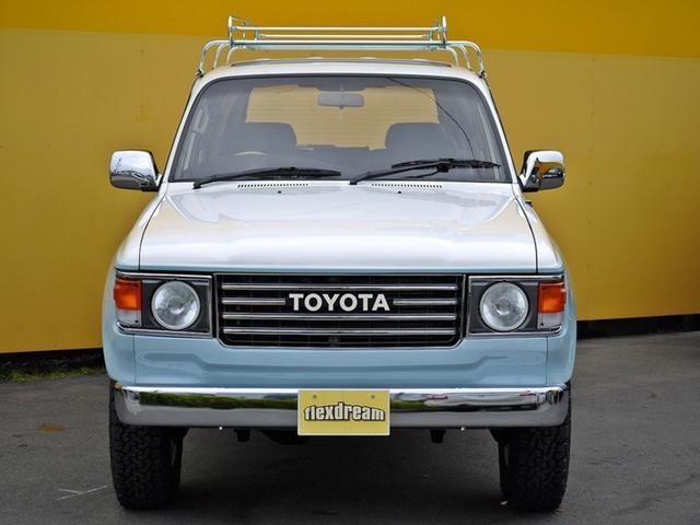 トヨタ ランドクルーザー80 VX-LTD ランクル60前期フェイス 丸目換装 クラシック