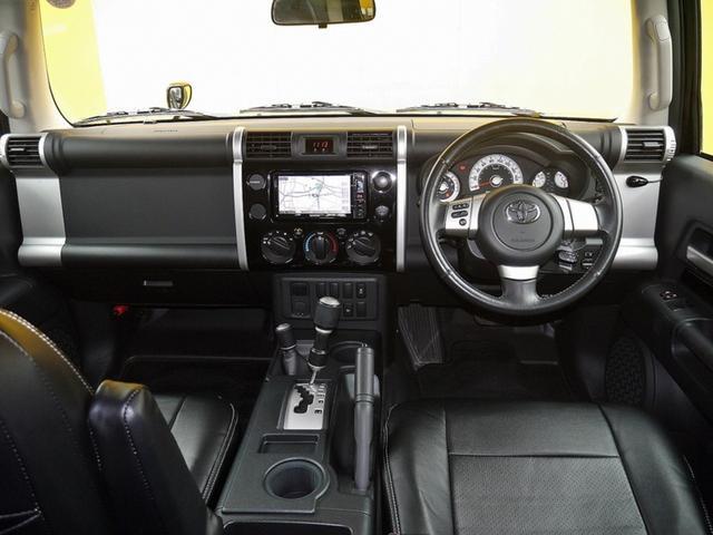 トヨタ FJクルーザー カラーパッケージ X-REASサスペンション リフトアップ