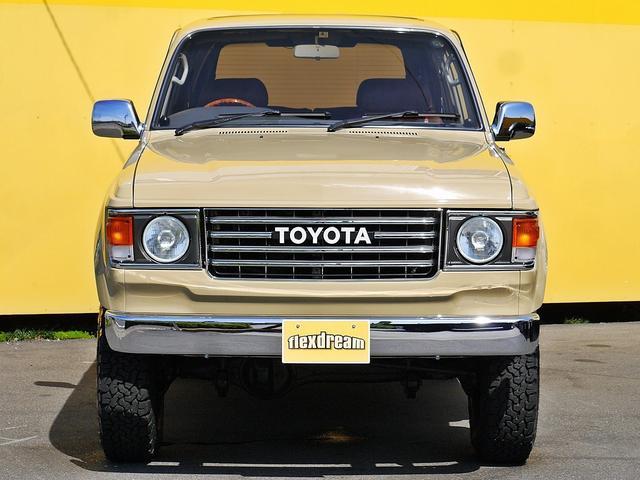 トヨタ ランドクルーザー80 VX 3インチリフトアップ SDナビ クリスタルヘッド