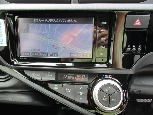トヨタ アクア G メモリーナビ フルセグTV