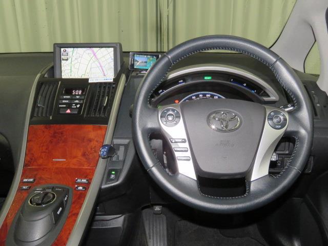 S HIDヘッドライト クルーズコントロール HDDナビ(4枚目)
