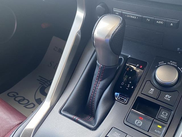 NX300h Fスポーツ 3眼ヘッド フルセグナビ 全周囲 赤革 衝突軽減 レーンキープ レーダークルーズコントロール シートヒーター パワーシート パワーバックドア クリアランスソナー ステアリングヒーター(34枚目)