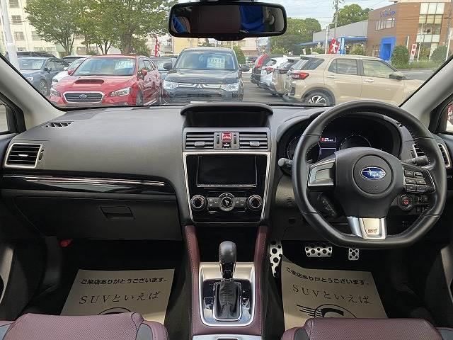 1.6STI Sport EyeSight アドバンスドセー 衝突軽減 レーダークルーズコントロール シートヒーター 革シート パワーシート スマートキー ブラインドスポット ETC SDナビ地デジ アイドリングストップ パドルシフト フォグランプ(10枚目)