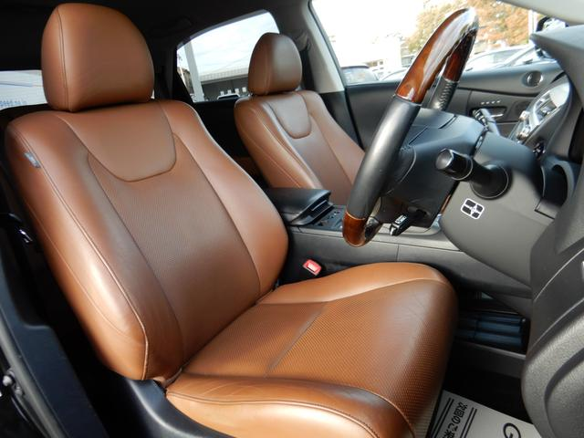 レクサス RX RX450h バージョンL アピアランスPKG 茶革 4WD