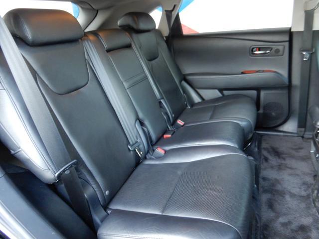 レクサス RX RX450h バージョンL 1オーナー HDD 黒革 4WD